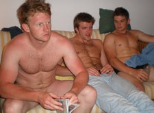 gay playing xbox naked with ex-boyfriends